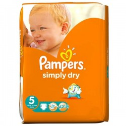 Pack 41 couches Pampers Simply Dry