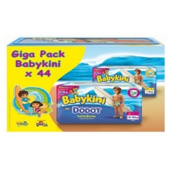Giga Pack 44 Couches Maillot de bain Dodot Babykini