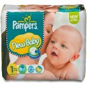 74 Couches Pampers New Baby taille 1 sur Sos Couches