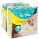 148 Couches Pampers New Baby taille 1 sur Sos Couches