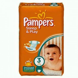 Pack 100 couches Pampers Sleep & Play