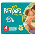 44 Couches Pampers Baby Dry taille 4 sur Sos Couches