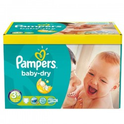 Maxi Giga Pack 340 Couches Pampers Baby Dry
