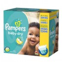 340 Couches Pampers Baby Dry 3+ sur Sos Couches