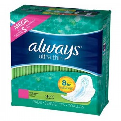 80 Serviettes hygiéniques Always Ultra Thin taille Long