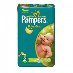 Pack 72 couches Pampers New Baby Dry