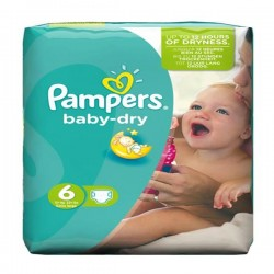 Pack 31 couches Pampers Baby Dry
