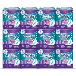144 Serviettes hygiéniques Always Ultra Thin taille LongPlus