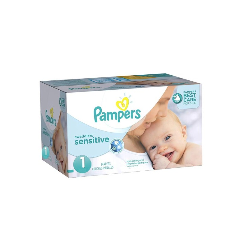 Achat 299 couches pampers new baby sensitive taille 1 - Prix couches pampers new baby taille 1 ...