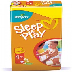 Mega Pack 258 couches Pampers Sleep & Play