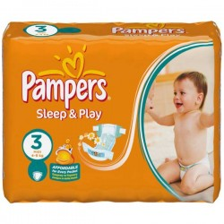 Maxi Giga Pack 500 couches Pampers Sleep & Play