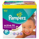 204 Couches Pampers Active Fit taille 5+ sur Sos Couches