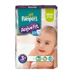 320 Couches Pampers de la gamme Active Fit taille 3+ sur Sos Couches