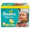 245 Couches Pampers Baby Dry taille 5+ sur Sos Couches