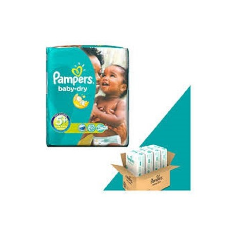 Achat 245 Couches Pampers Baby Dry Taille 5 à Bas Prix Sur Sos Couches