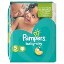 30 Couches Pampers Baby Dry taille 5 sur Sos Couches