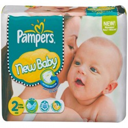 Maxi Giga Pack 264 couches Pampers New Baby