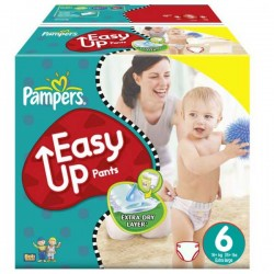 Giga Pack 114 couches Pampers Easy Up