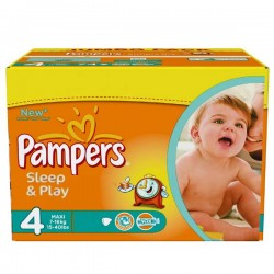 Pack 86 Couches Pampers Sleep & play