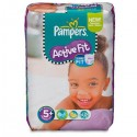 45 Couches Pampers Active Fit taille 5+ sur Sos Couches