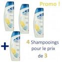 4 Shampooings Head & Shoulders Antipelliculaire Citrus Fresh - 4 au prix de 3 sur Sos Couches