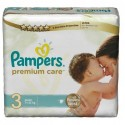 20 Couches Pampers Premium Care taille 3 sur Sos Couches