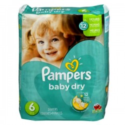 Pack 33 couches Pampers Baby Dry
