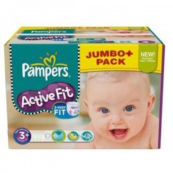 Maxi Giga Pack 280 Couches Pampers Active Fit