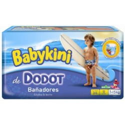 12 Couches de bains Dodot Maillot de bain de taille 44 sur Sos Couches