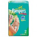 232 Couches Pampers Baby Dry 2 sur Sos Couches