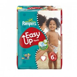 38 Couches Pampers Easy Up taille 6 sur Sos Couches