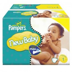 301 Couches Pampers New Baby Dry 1