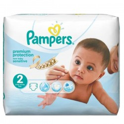 Pack 28 couches Pampers New Baby Sensitive