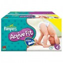 100 Couches Pampers Active Fit taille 4 sur Sos Couches