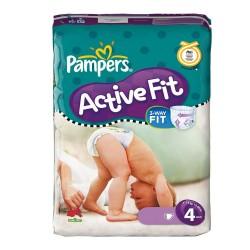 43 Couches de la marque Pampers Active Fit de taille 4 sur Sos Couches