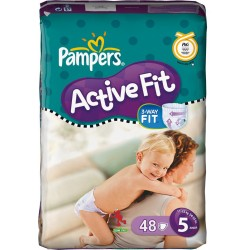 Pack 48 couches Pampers Active Fit