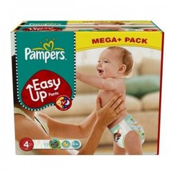 Maxi Giga Pack 210 couches Pampers Easy Up