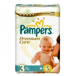 Pack 27 couches Pampers Premium Care