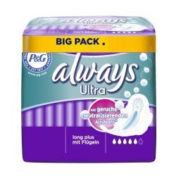 14 Serviettes hygiéniques Always Ultra taille LongPlus