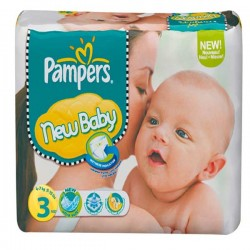 Maxi Giga Pack 296 Couches Pampers New Baby