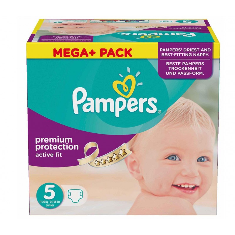 Achat 322 couches pampers active fit taille 5 en solde sur - Achat couches pampers en gros pas cher ...