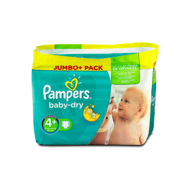 Achat 210 couches pampers baby dry taille 4 en solde sur - Prix couches pampers baby dry taille 4 ...