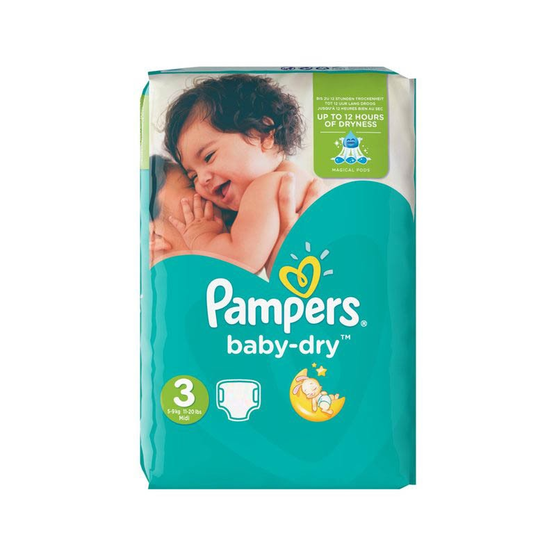 Achat 70 couches pampers baby dry taille 3 bas prix sur - Prix couches pampers baby dry taille 4 ...