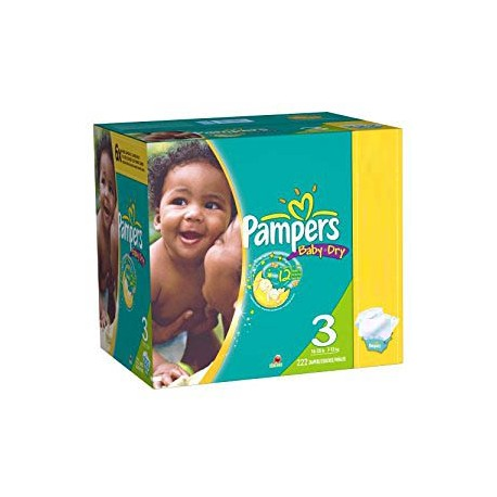 280 Couches Pampers Baby Dry 3 sur Sos Couches