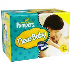 324 Couches Pampers New Baby taille 1 sur Sos Couches