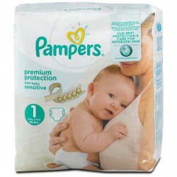 39 Couches Pampers de la gamme New Baby Sensitive taille 6 sur Sos Couches