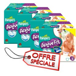 615 Couches Pampers Active Fit 3