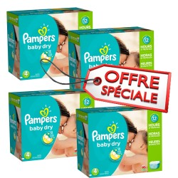 920 Couches Pampers Baby Dry taille 4 sur Sos Couches