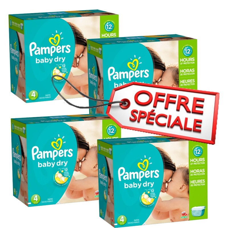 Achat 920 couches pampers baby dry taille 4 moins cher sur - Prix couches pampers baby dry taille 4 ...