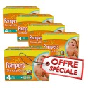 740 Couches Pampers Simply Dry 4 sur Sos Couches